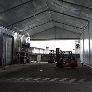 Locação de tendas e coberturas