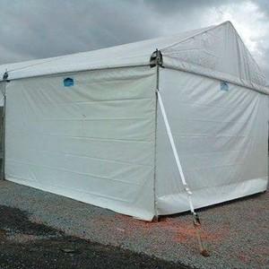 Locação de tendas para armazenagem